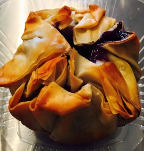 Blueberry Filo Pastries